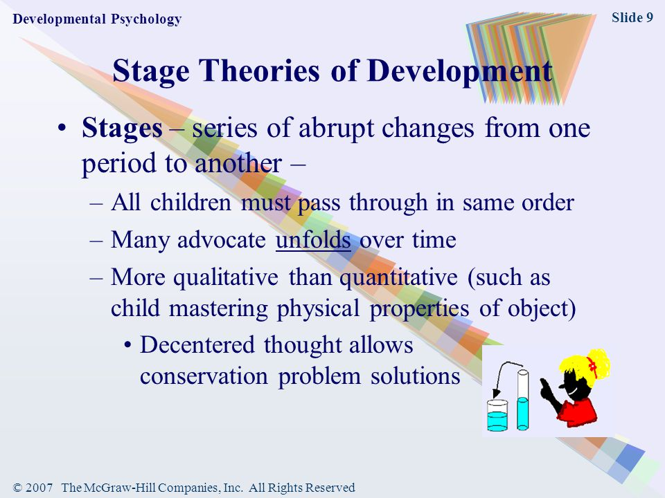 Stage Theories of Development