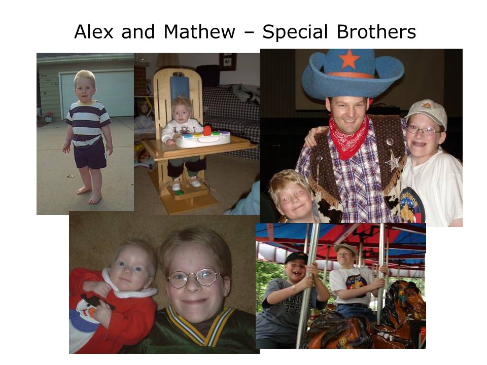 Alex and Mathew – Special Brothers