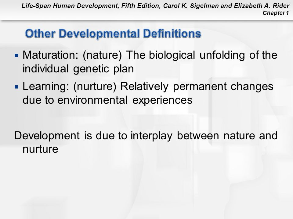 Other Developmental Definitions