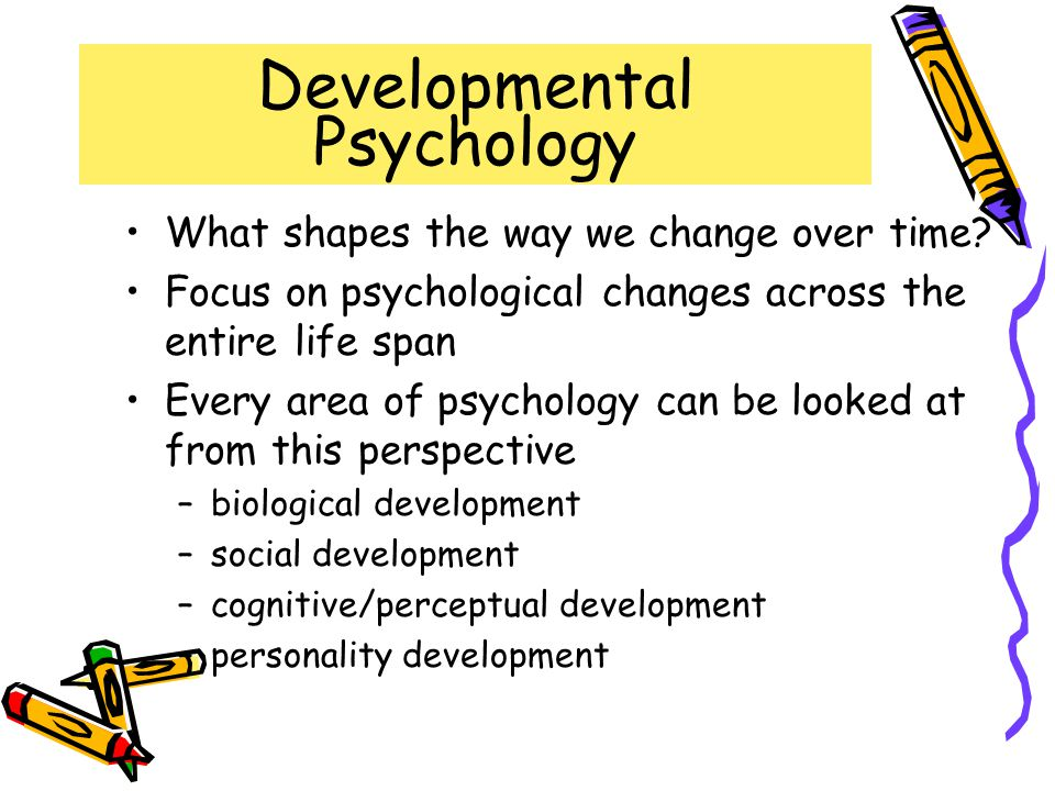 Developmental Psychology