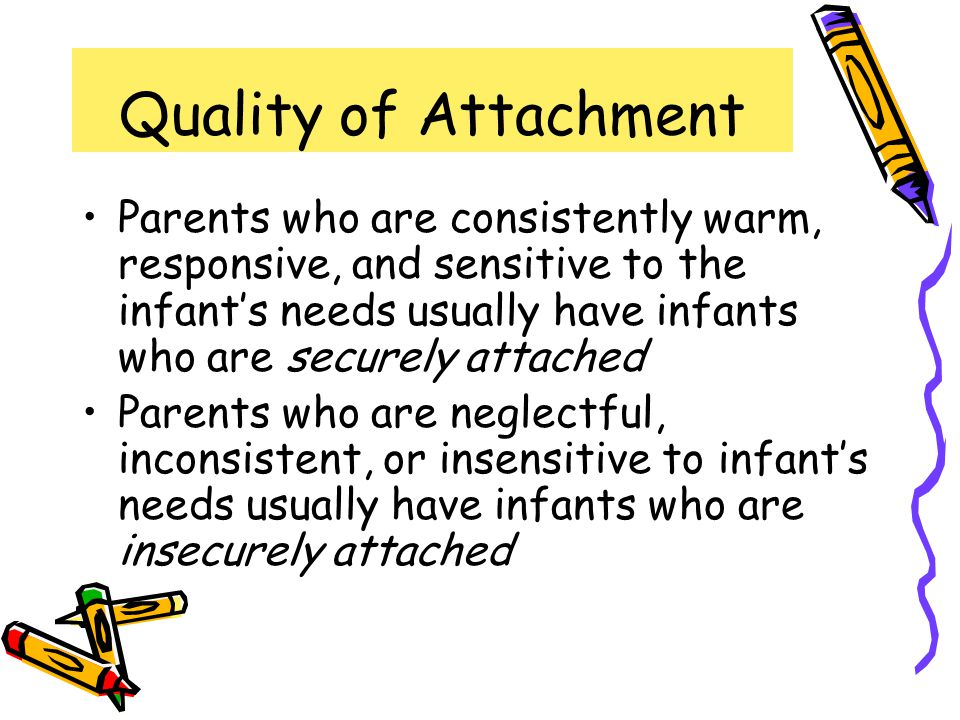 Quality of Attachment