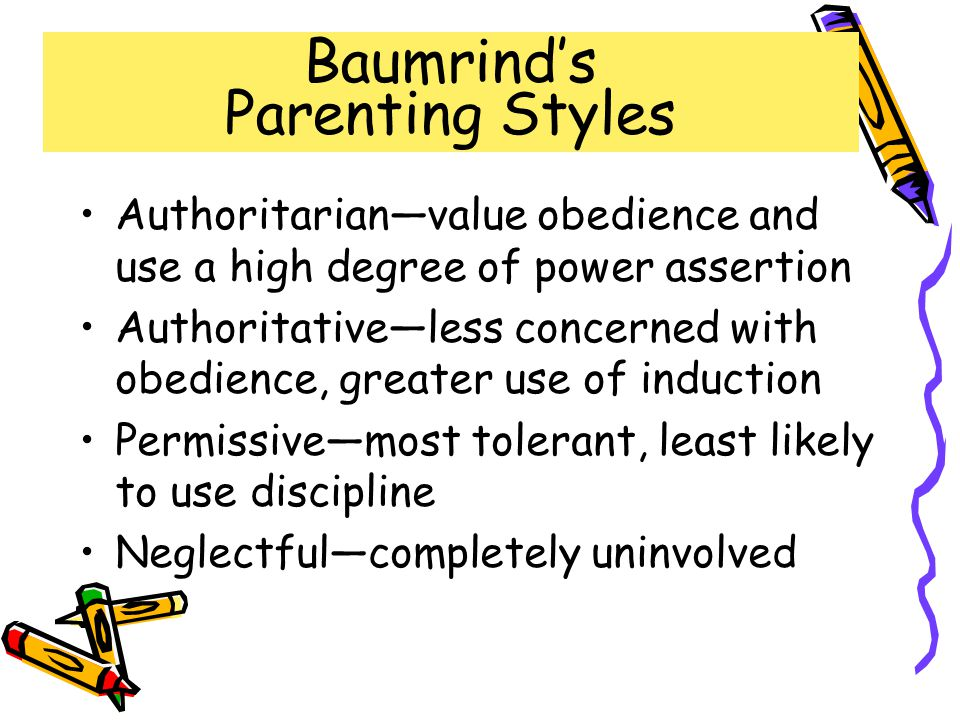 Baumrind's Parenting Styles