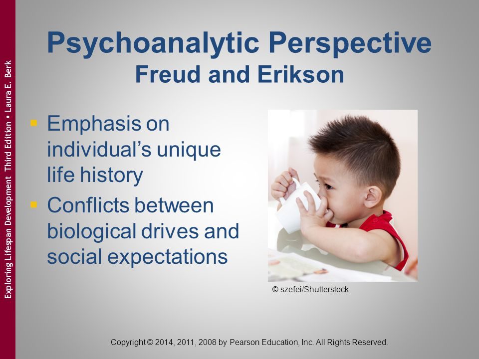 Psychoanalytic Perspective Freud and Erikson