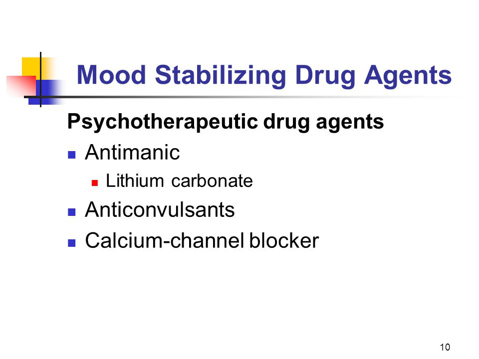 Mood Stabilizing Drug Agents
