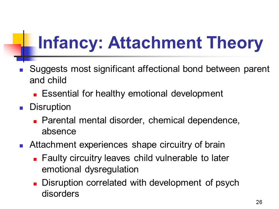 Infancy: Attachment Theory
