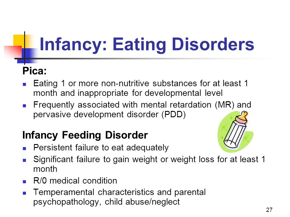 Infancy: Eating Disorders