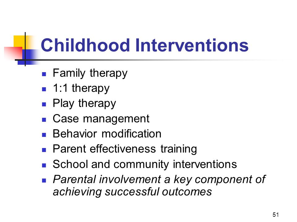 Childhood Interventions
