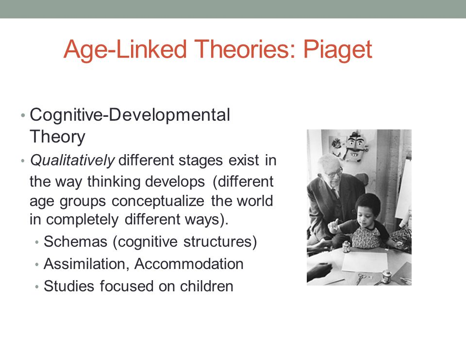 Age-Linked Theories: Piaget