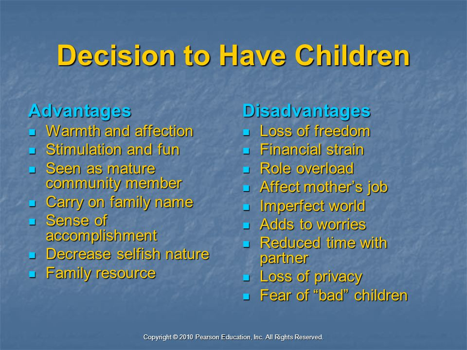 Decision to Have Children