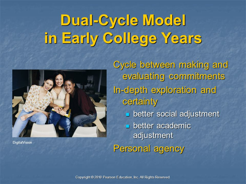 Dual-Cycle Model in Early College Years