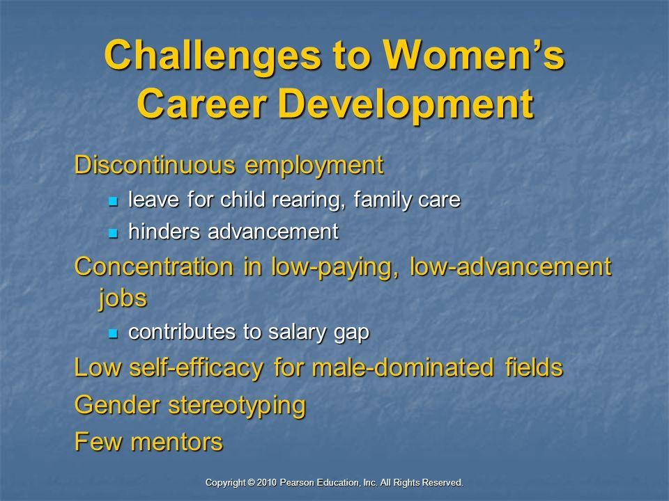 Challenges to Women's Career Development