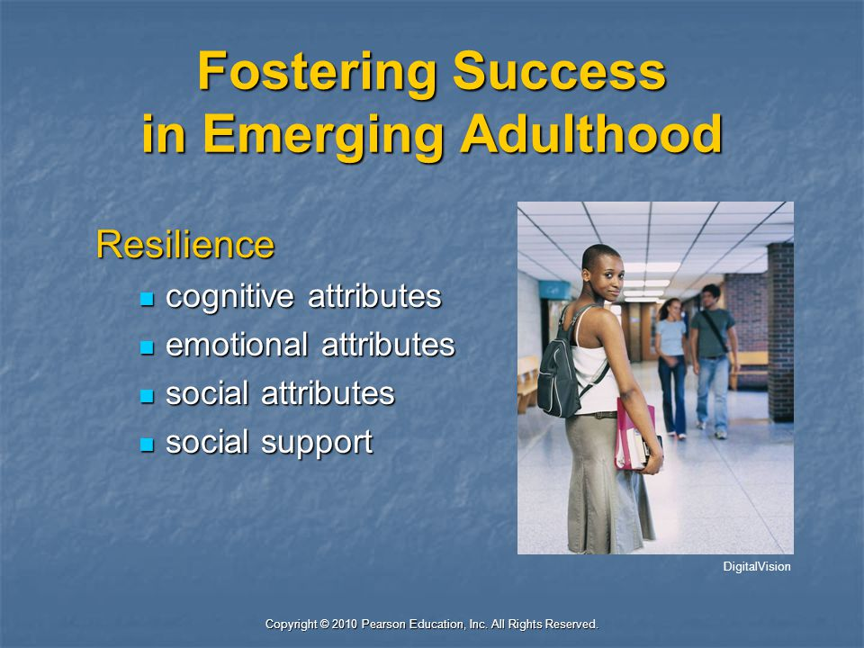 Fostering Success in Emerging Adulthood