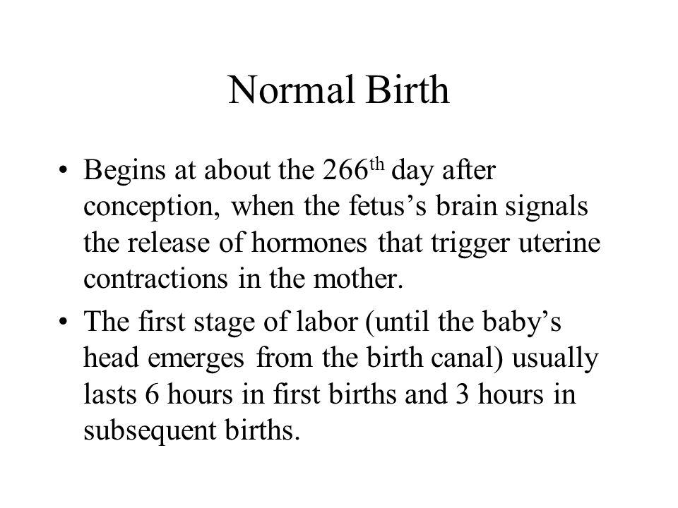 Normal Birth