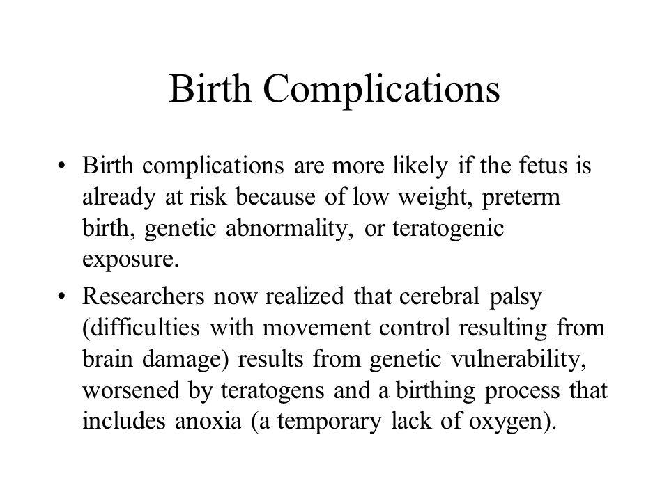 Birth Complications