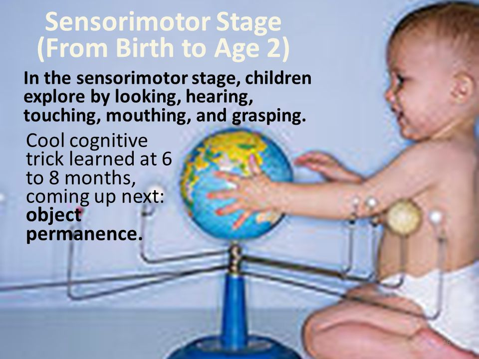 Sensorimotor Stage (From Birth to Age 2)