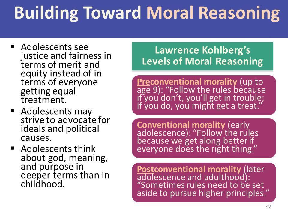 Building Toward Moral Reasoning