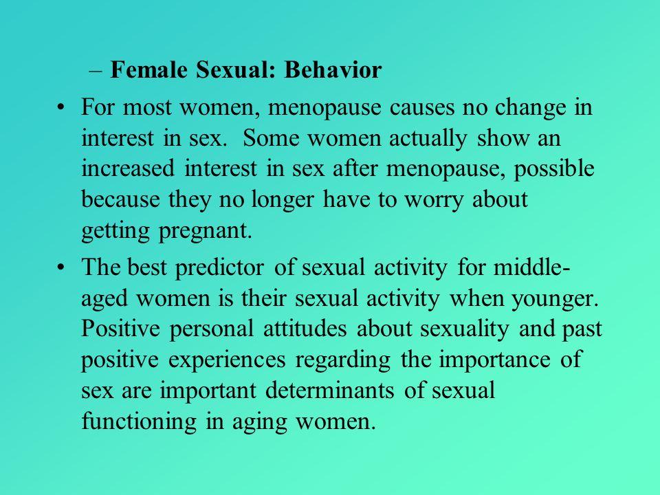 Female Sexual: Behavior