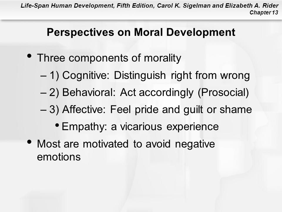 Perspectives on Moral Development