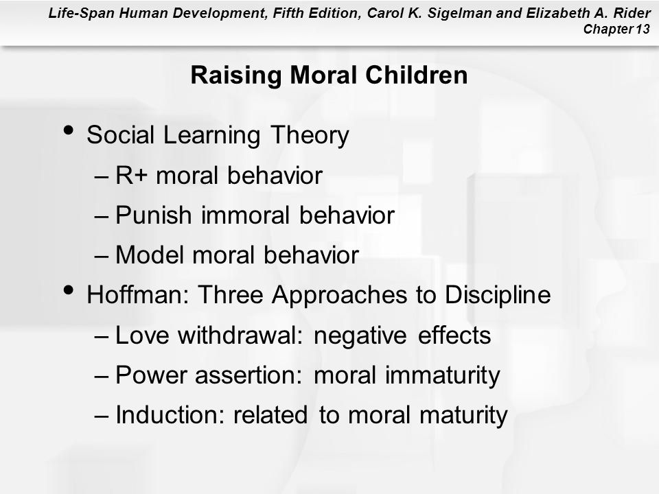 Raising Moral Children