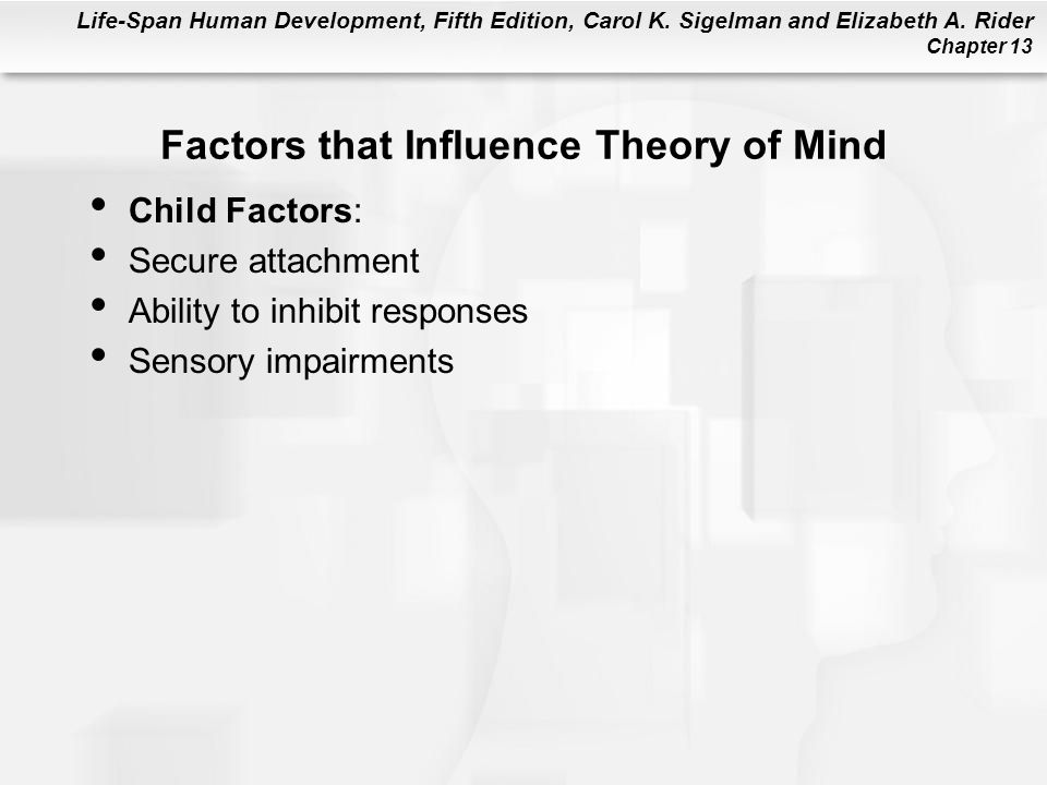 Factors that Influence Theory of Mind