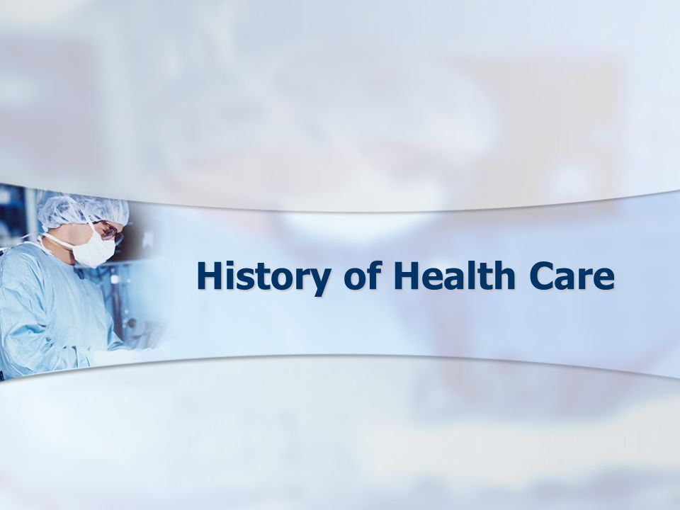 History of Health Care