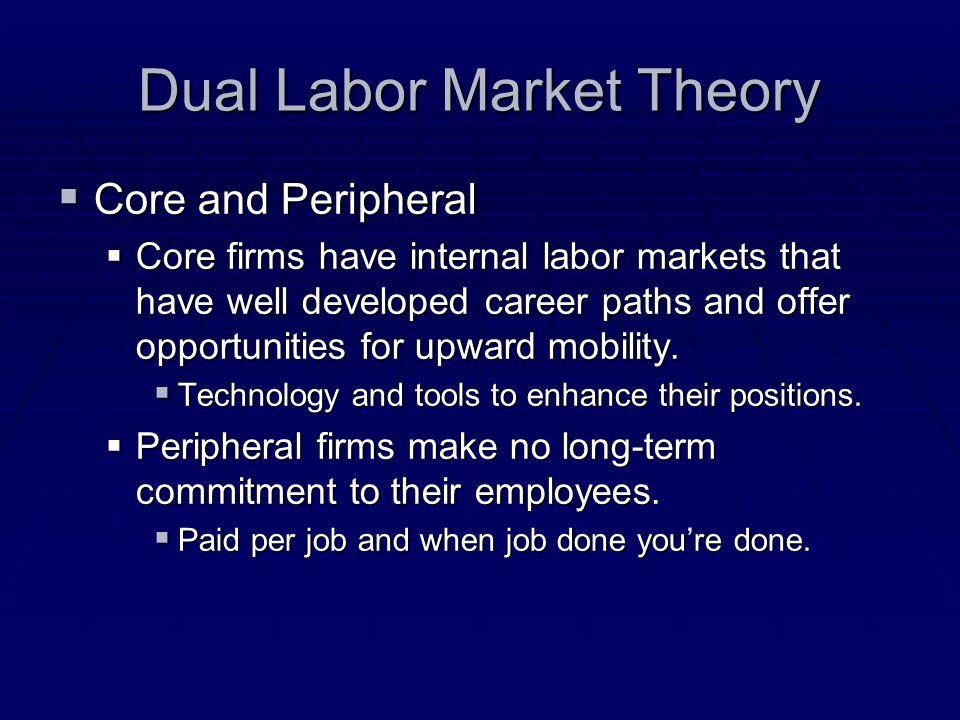 Dual Labor Market Theory