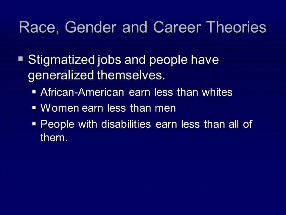 Race, Gender and Career Theories