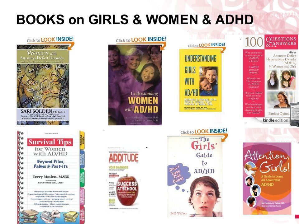 BOOKS on GIRLS & WOMEN & ADHD