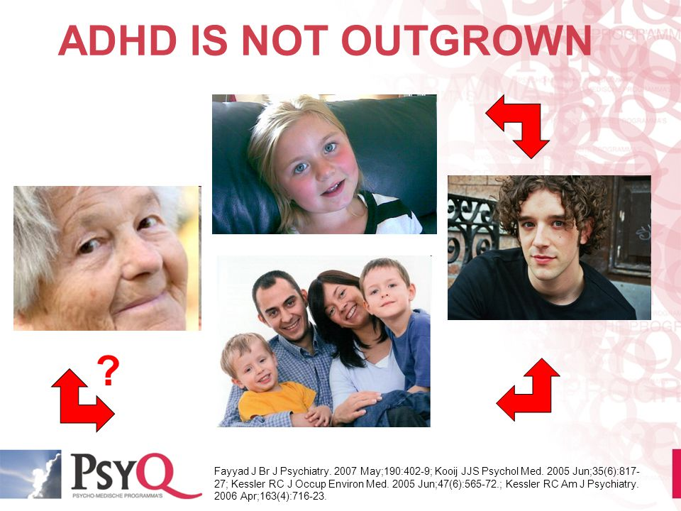 ADHD IS NOT OUTGROWN