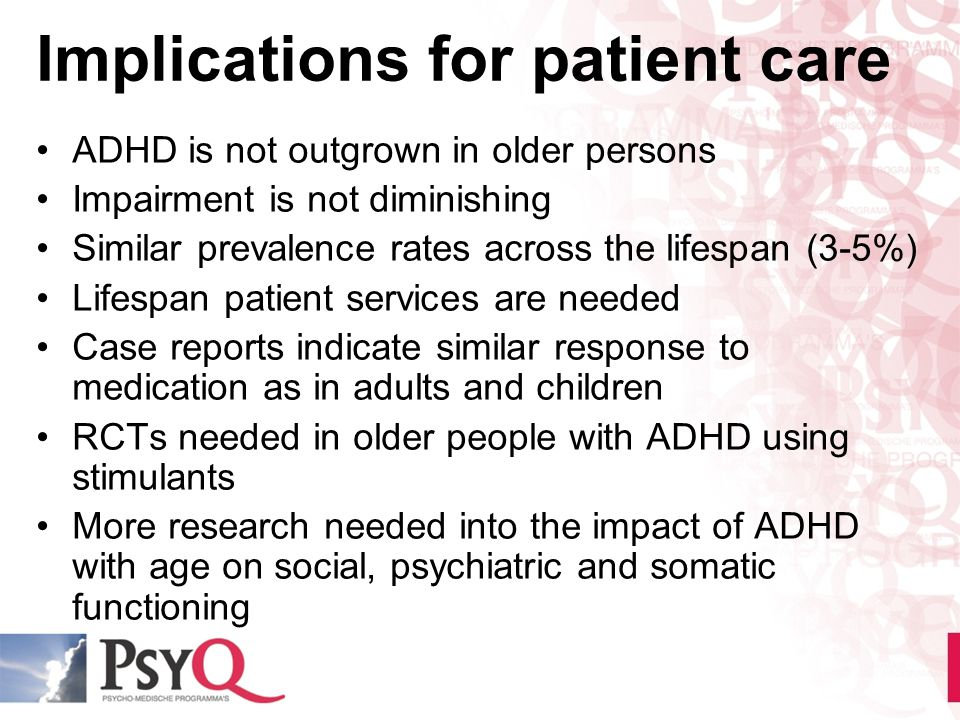 Implications for patient care