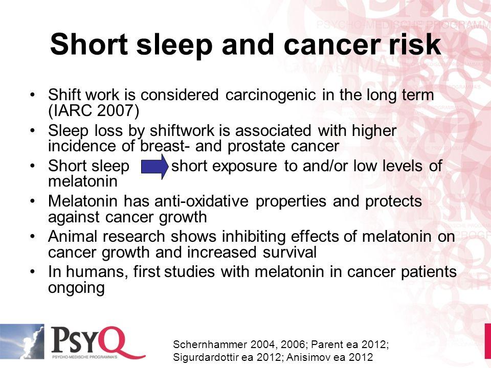 Short sleep and cancer risk