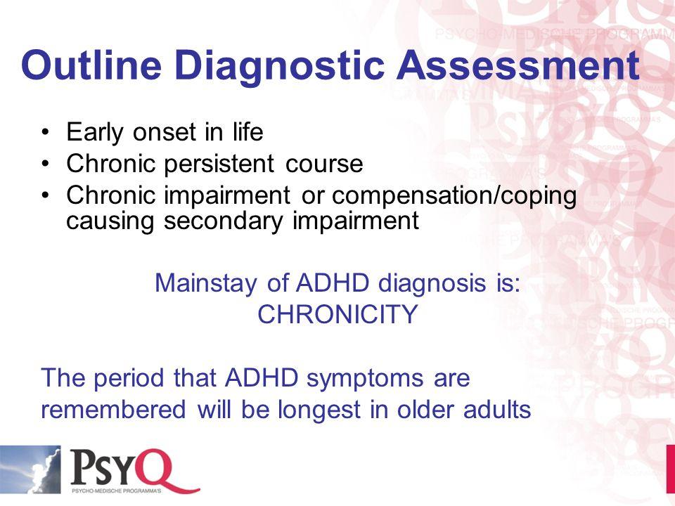 Outline Diagnostic Assessment