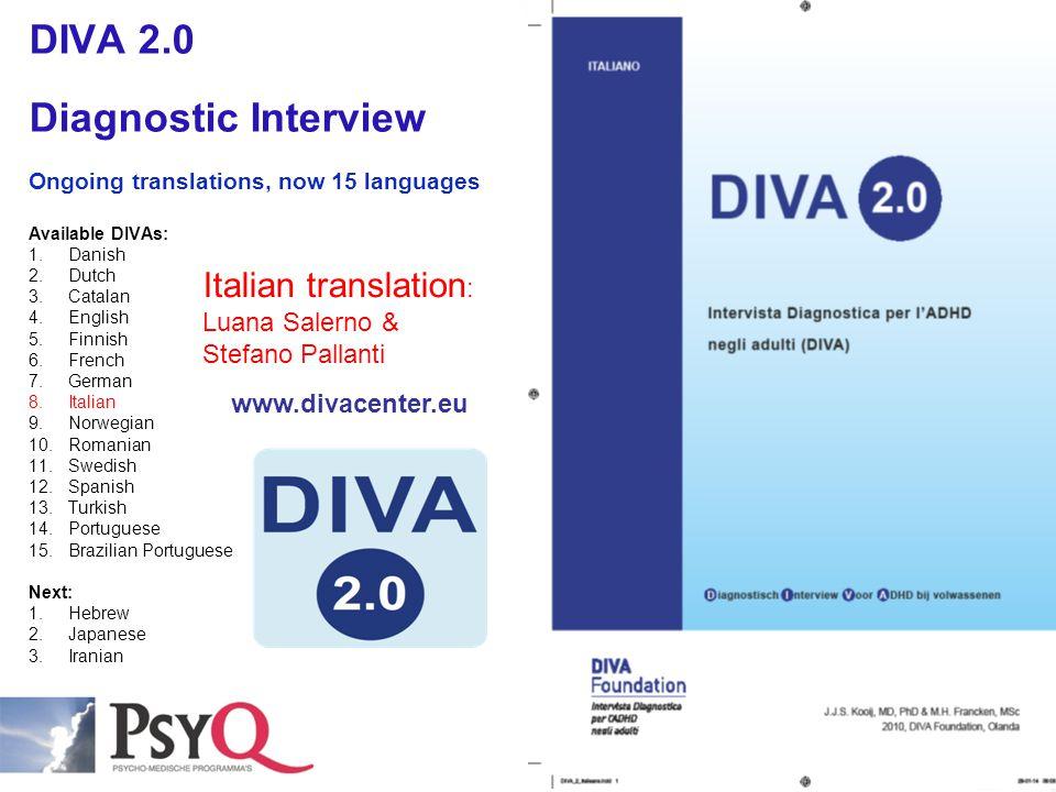 DIVA 2.0 Diagnostic Interview