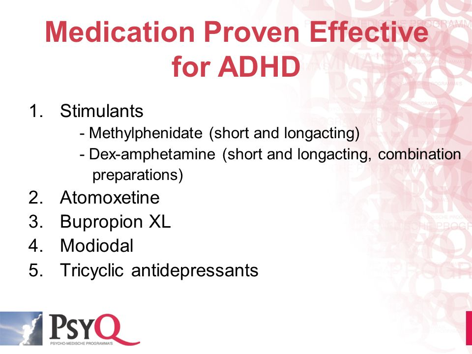 Medication Proven Effective for ADHD