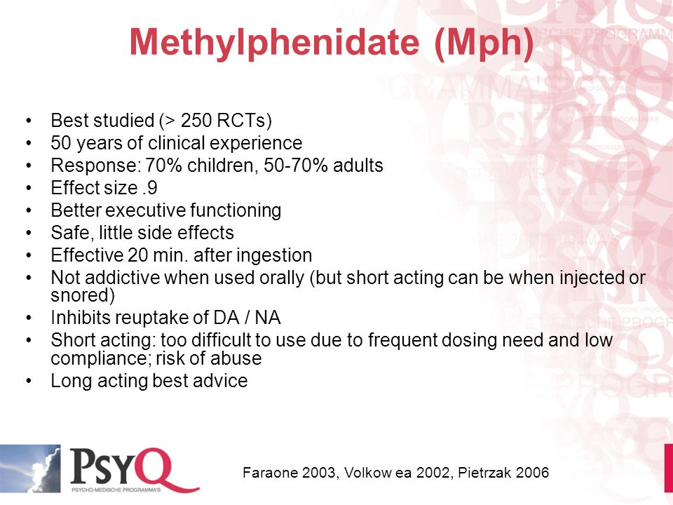 Methylphenidate (Mph)