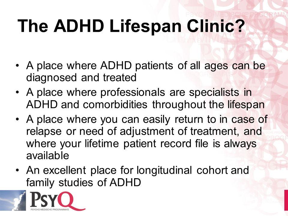 The ADHD Lifespan Clinic