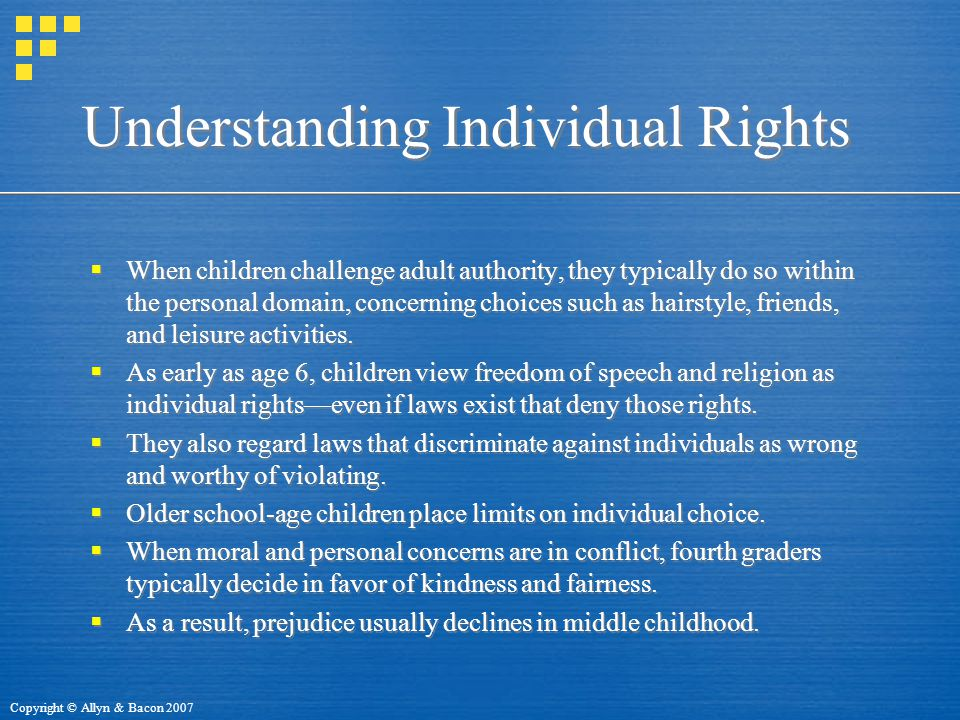 Understanding Individual Rights