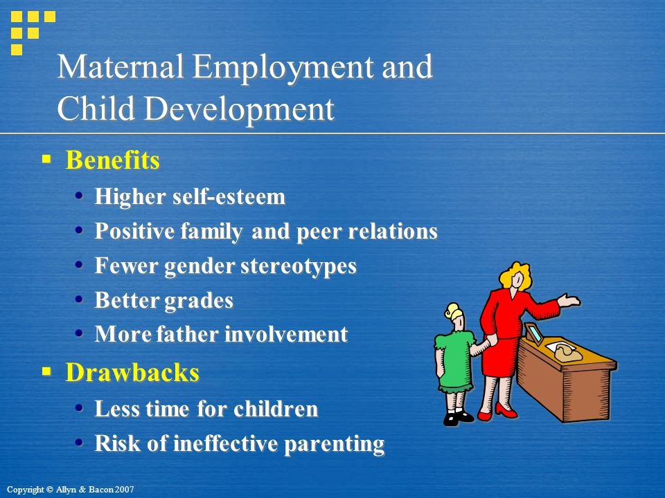 Maternal Employment and Child Development