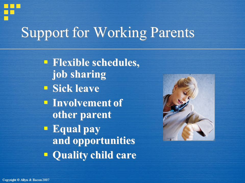 Support for Working Parents