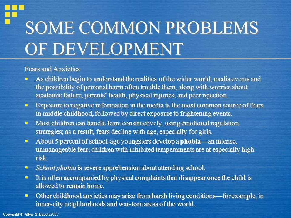 SOME COMMON PROBLEMS OF DEVELOPMENT