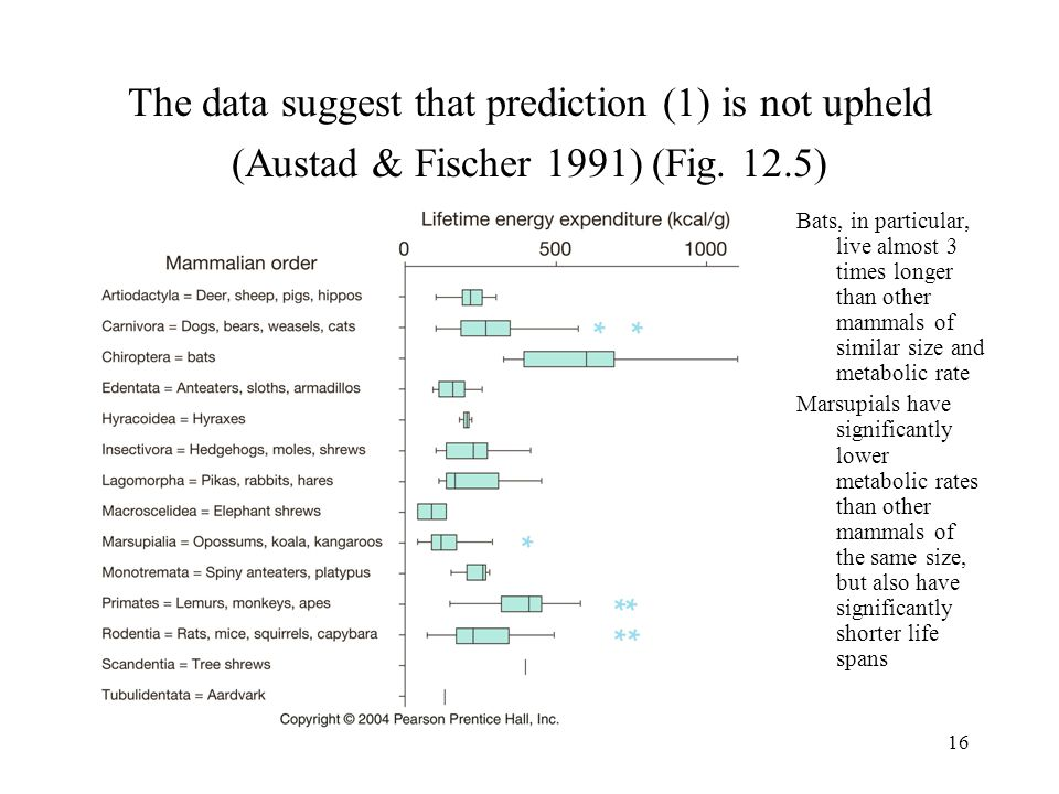 The data suggest that prediction (1) is not upheld (Austad & Fischer 1991) (Fig. 12.5)