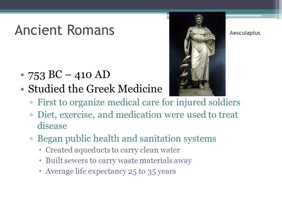 Ancient Romans Aesculapius