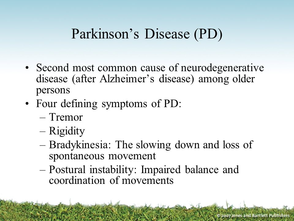 Parkinson's Disease (PD)