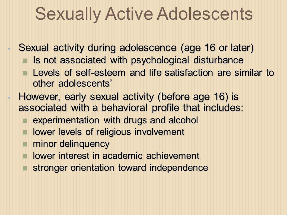 Sexually Active Adolescents