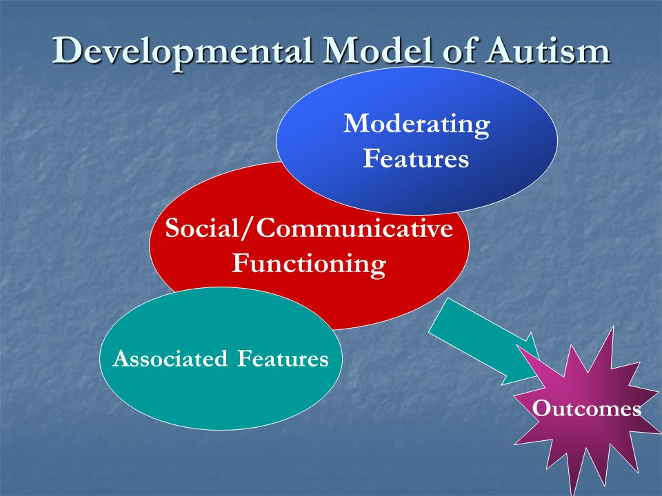 Developmental Model of Autism