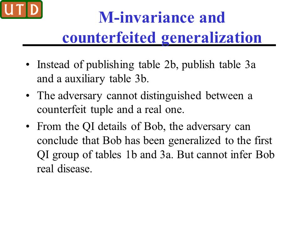 M-invariance and counterfeited generalization
