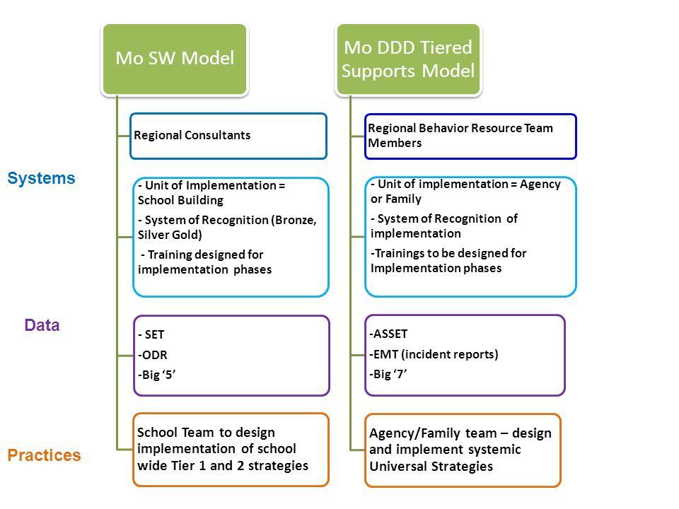 Mo DDD Tiered Supports Model