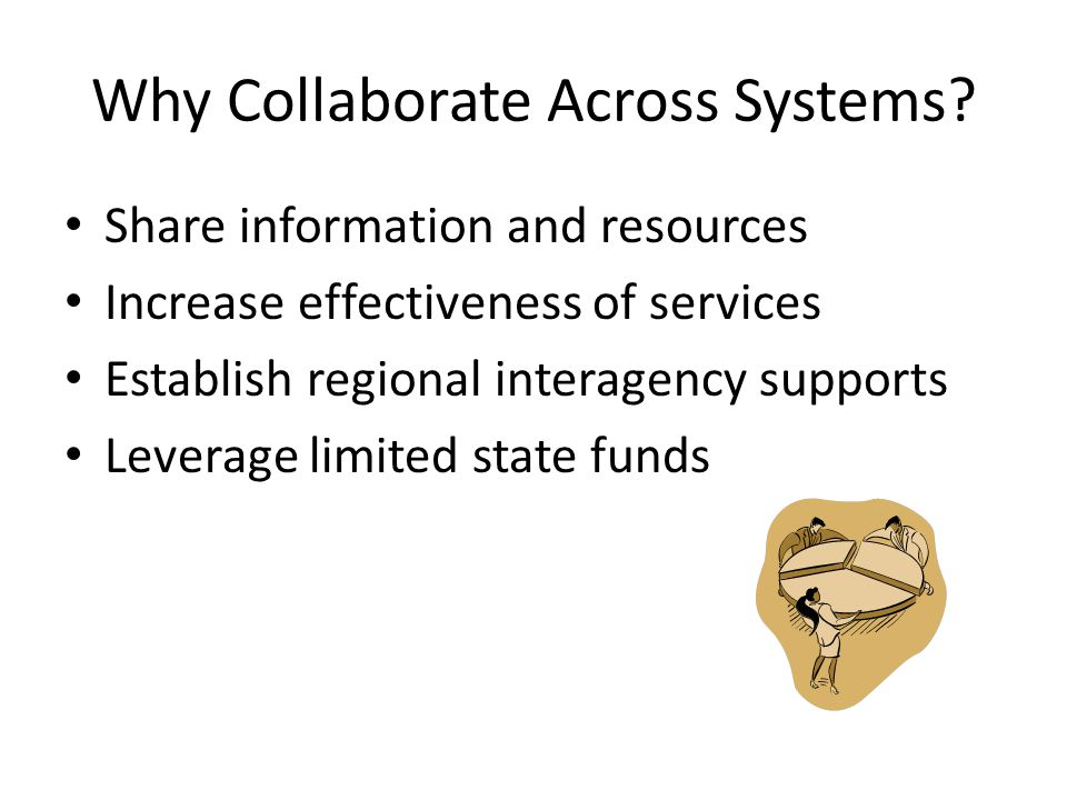 Why Collaborate Across Systems