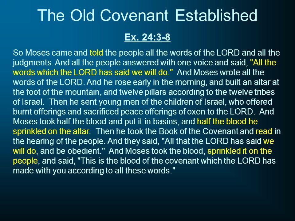 The Old Covenant Established