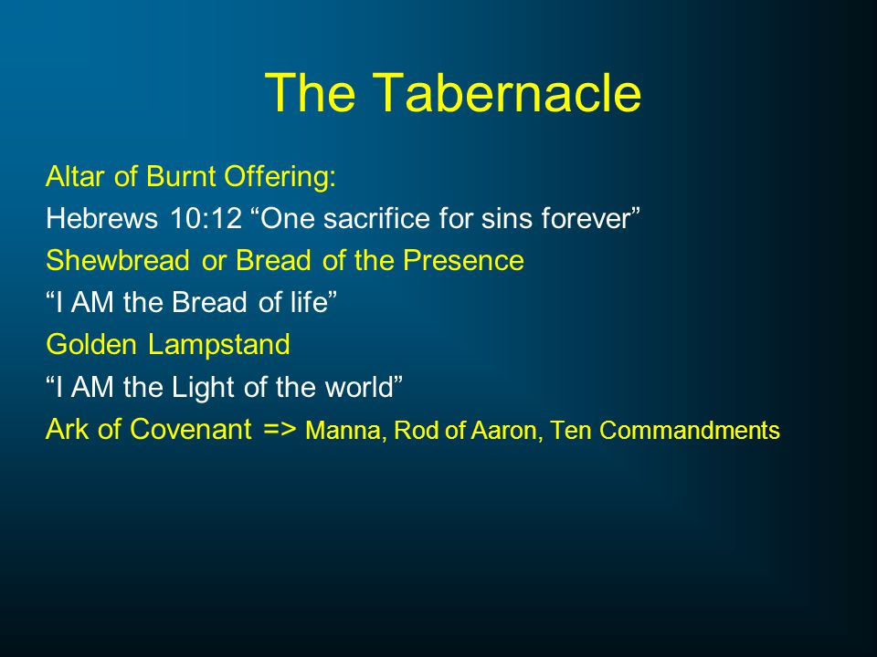The Tabernacle Altar of Burnt Offering: